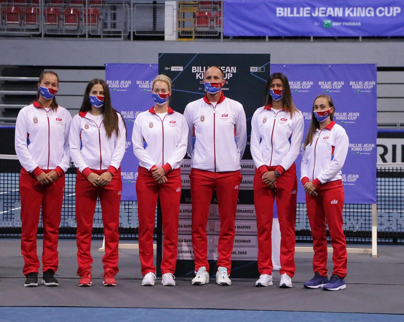 teniska reprezentacija srbije