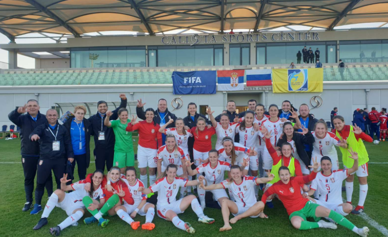 ženska reprezentacija srbije u fudbalu