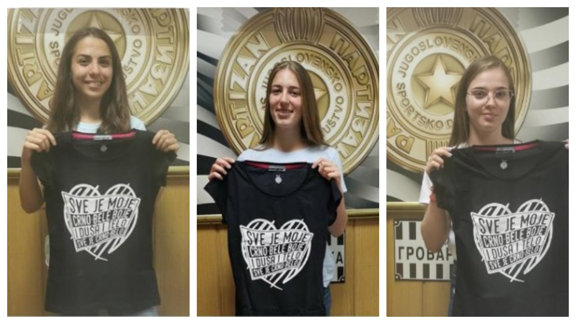 Tri gracije istig dana stigle u Partizan