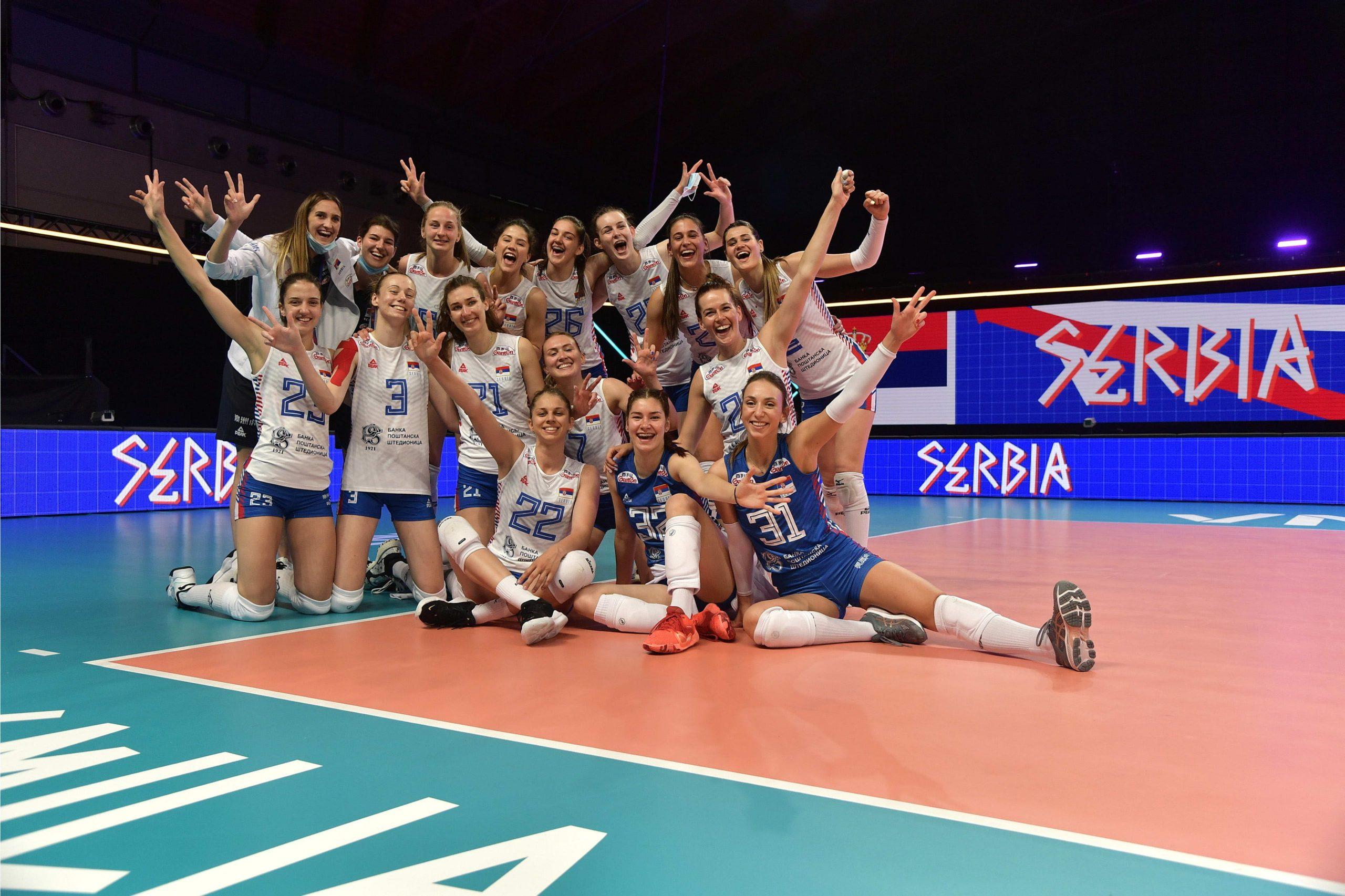 odbojkaška reprezentacija Srbije Liga nacija
