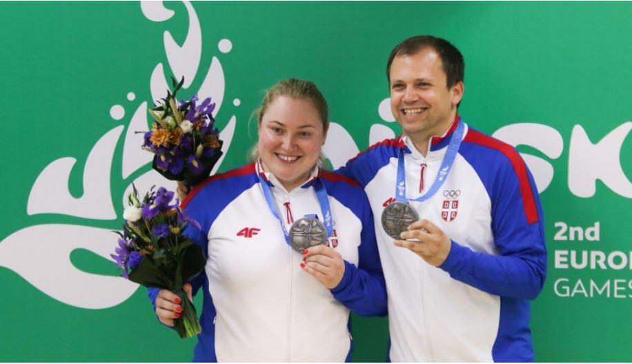 Zorana Arunović i Damir Mikec
