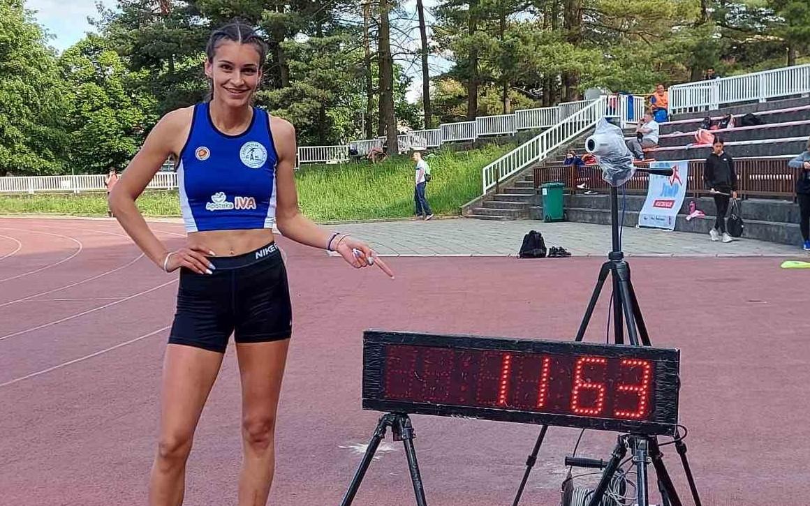 ivana ilić atletika rekord