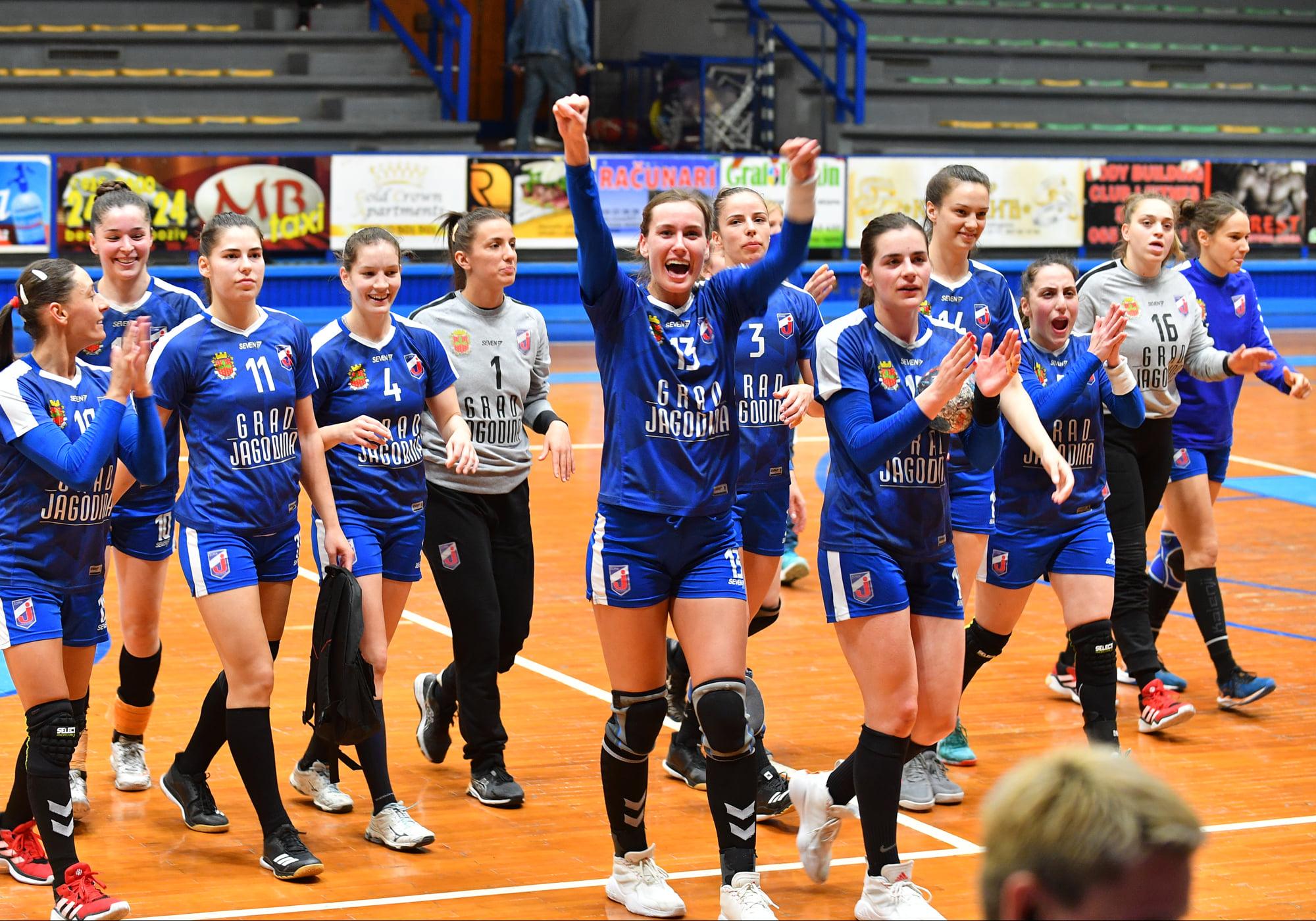 Jagodina je drugi finalista Superlige