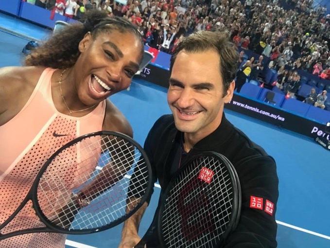 Serena: Federer je najbolji svih vremena