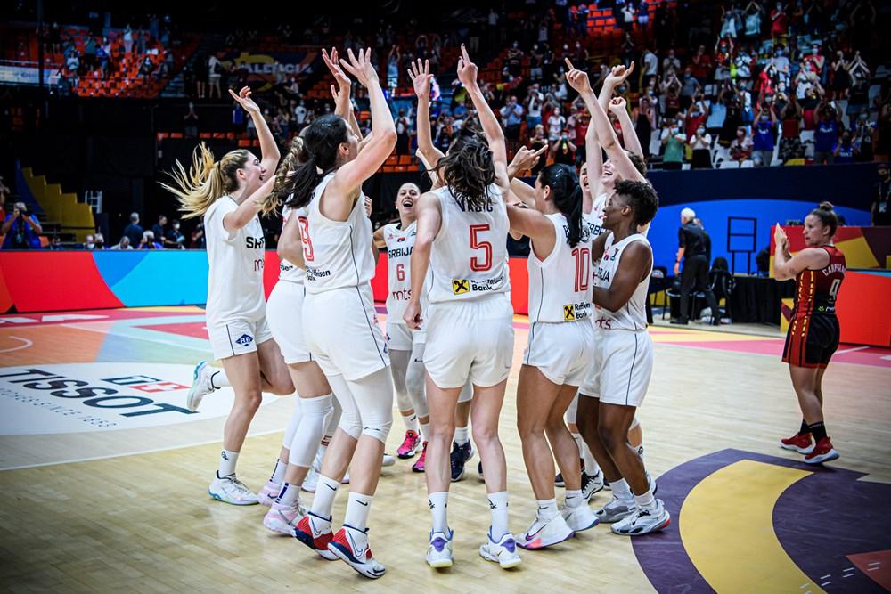 košarkašice srbija