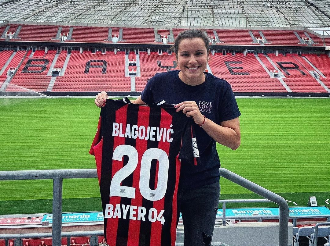 Dina Blagojević zvanično predstavljena u Leverkuzenu